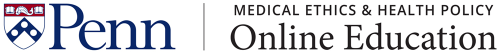 Penn Medical Ethics & Health Policy Online Education logo
